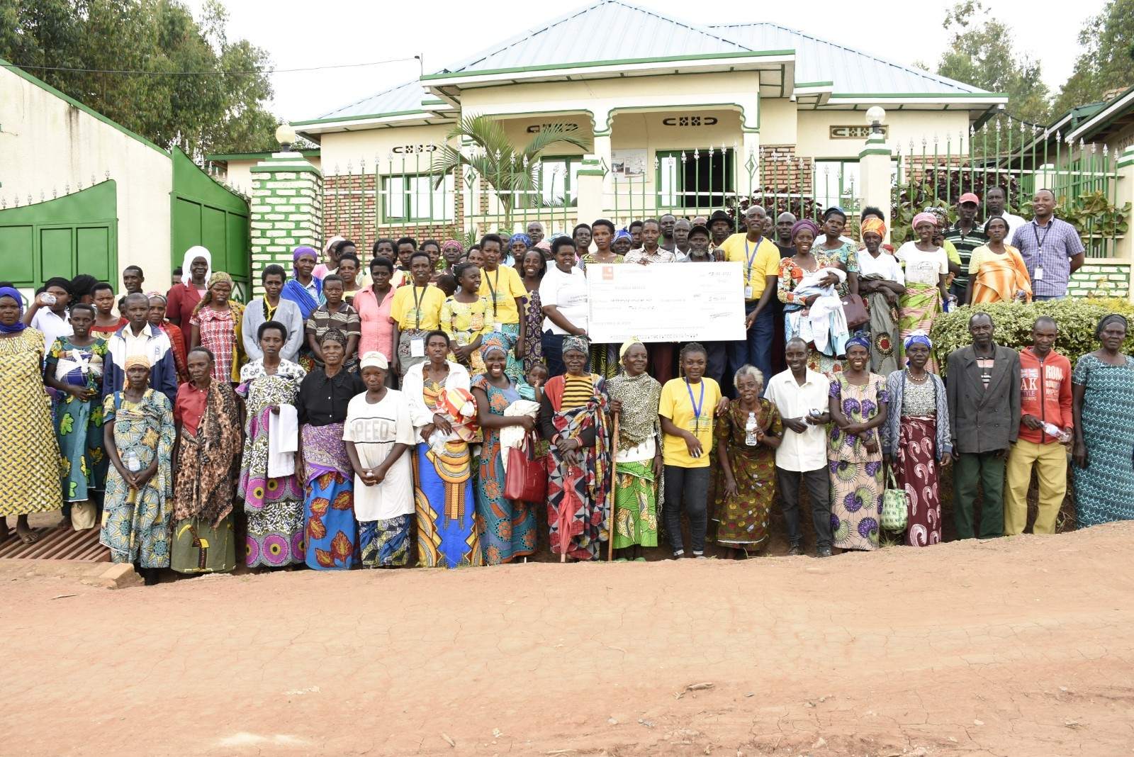 HOPE OF FAMILY SUPPORTED 100 FAMILIES