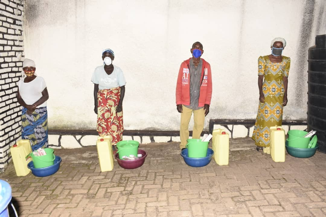 Hope of Family' Beneficiaries get Hygiene and Sanitation Tools to fight COVID 19