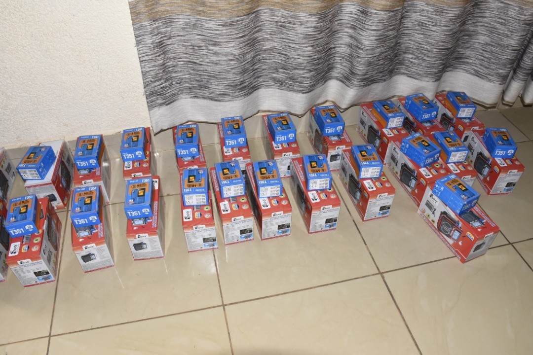 HOPE OF FAMILY donates Radios and Mobile Phones to 77 more beneficiaries in Muhanga